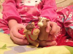 Little People Nativity Scavenger Hunt | The Home Teacher