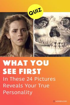 React quickly to these images to find out your true personality quiz. This is an accurate psychological personality test! #whatyouseefirst #opticalillusion #imagequiz #picturequiz #visualquiz #personalityquiz #quizzes #aboutyourself #innerpersonality #whatdoyousee #youreyes #funquiz #quizzesaboutyourself