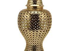 Ceramic Filigree Jar | Canisters | Decorative-accessories | Accessories | Decor | Z Gallerie