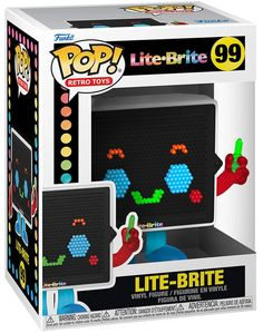 Lite Brite, Funko Pop, Perfect Grade, Figurine Pop, Pop Vinyl Figures, Retro Toys, 90s Kids, Display Boxes, Cool