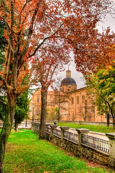 Otoño en Salamanca.
