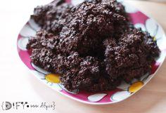 Zdravé domácí čokoládové ovesné sušenky
