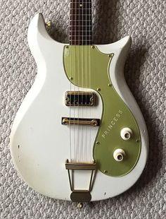 Gretsch 6106 White Princess Corvette (1962) | The 10 Rarest Gretsch Guitars on Reverb Right Now | Reverb News #GretschGuitars #vintageguitars