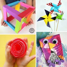 18  Paper Crafts for Kids