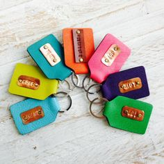 Papemelroti Leather Word Keychain Diy Arts And Crafts, Home Crafts, Usb Flash Drive, Diys, Craft Projects, Leather, Bricolage, Do It Yourself, Handmade Crafts