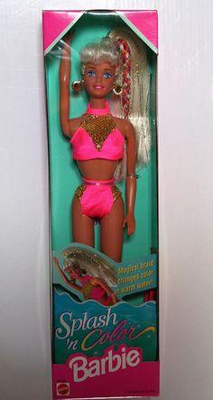 Splash n Color Barbie - also had Christie