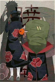 Tobi and Zetsu Kakashi, Naruto Shippuden Sasuke, Hinata Hyuga, Itachi Uchiha, Naruto And Sasuke, Anime Naruto, Anime Guys, Akatsuki, Naruto Show