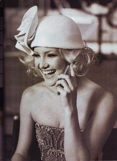 Fashion Flashback: Kate Hudson as Daisy Buchanan. Harper's Bazaar US, September 2007