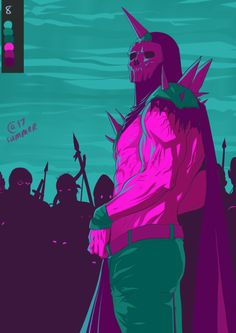 100 Palette Challenge  #8. Rando from Lisa the Painful RPG