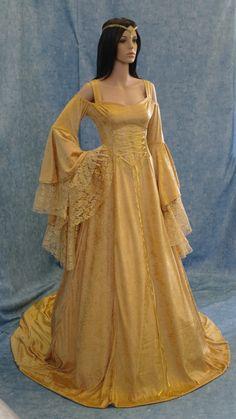 Renaissance Brautkleid Mittelalter Kleid Elfen von camelotcostumes