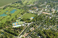 Il centro sportivo visto dall'alto