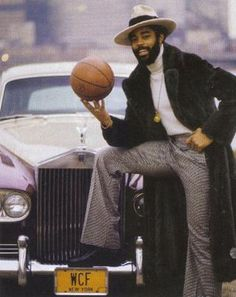 Walt Frazier.  The Shaft of Basketball.