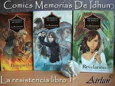 Comic Memorias de Idhun