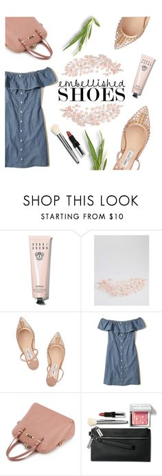"""Shoes✨"" by janicevc ❤ liked on Polyvore featuring Bobbi Brown Cosmetics, ASOS, Jimmy Choo and Hollister Co."