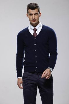 How to wear a Cardigan The Idle Man 59