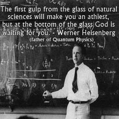Werner Heisenberg, father of quantum physics - . - Werner Heisenberg, father of quantum physics – We - Quotable Quotes, Wisdom Quotes, Me Quotes, Quotes Pics, Nature Quotes, The Words, Great Quotes, Inspirational Quotes, Personal Development
