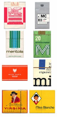 Amazing vintage cigarette pack designs from around the world « GRAM ::: disseny gràfic :::: solucions creatives Vintage Artwork, Vintage Prints, Vintage Designs, Vintage Graphic, Vintage Packaging, Packaging Design, Automotive Logo, Smoke And Mirrors, Branding