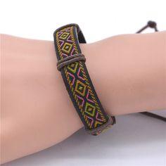 New Arrival macrame bracelet Jewelry Handmade Braid Rope Leather Bracelet Male Bracelets Bangles - BL911