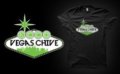 Want this soooo bad! :D What happens here, stays here... except this shirt. Uniquely designed for Vegas Chive, this shirt is worth showing off wherever you go!  THIS IS A PRESALE! ALL ORDERS WILL SHIP THE WEEK OF APRIL 7TH REGARDLESS OF WHEN THEY ARE PLACED!!!  Mens shirts are crew necks, womens a d...