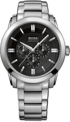 Hugo Boss Watch, Men's Chronograph Stainless Steel Bracelet 44mm 1