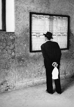 Gérard Castello-Lopes Horário Transvias Lisboa - Sintra, Portugal, 1957