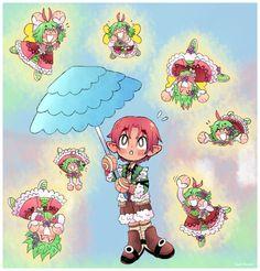 Art blog Rune Factory, April Showers, Runes, Art Blog, Princess Peach, Fictional Characters, Fantasy Characters