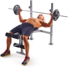 Gold S Gym Weight Lifting Bench Strength Body Workout Fitness Exercise Press Ebay
