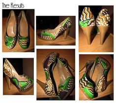 Curvy Geekery: D.I.Y Fabric Covered Heels