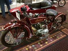 Steve McQueen's Motorcycle Deliverd To Las Vegas, For A TV Show !