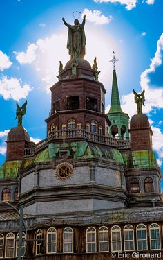Notre Dame de Bonsecours chapel in Old Montreal Quebec Canada
