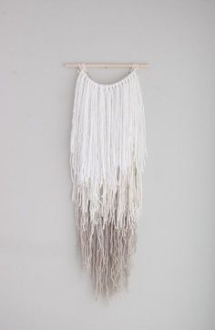 Ombre wall hanging yarn wall hanging long by Thoseindiemommies