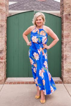 Today is graduation day, at least it is for my granddaughter, Emersyn. She is graduating from kindergarten, and it is a BIG deal for her. 50 Is Not Old, Fashion Over 50, Women's Fashion, Spring Fashion, Summer Dress Outfits, Hollywood Fashion, Floral Maxi Dress, New Dress, Clothes