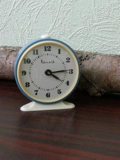 Soviet mechanical clock Vitjaz.