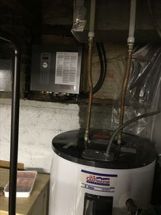 New guy is wired. Need a swaparoo. Electricians warned not to turn on breaker until water in the new one. Electrical Problems, Electric Company, Old Ones, House Projects, Seattle, Guy, Old Things, Letter, Rest