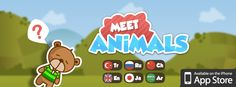Our new game OXY Meet Animals available on App Store now