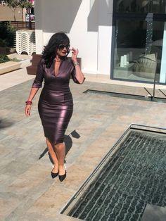 Ein Kleid, das alle Blicke aus die Trägerin zieht Good Woman, Lady, Amazing Women, Bodycon Dress, Fake Fur, Lifestyle, Charmed, Beauty, Winter