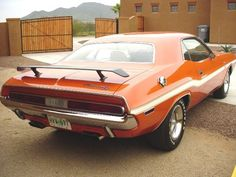 1970 Dodge Challenger R/T Maintenance/restoration of old/vintage vehicles: the material for new cogs/casters/gears/pads could be cast polyamide which I (Cast polyamide) can produce. My contact: tatjana.alic@windowslive.com