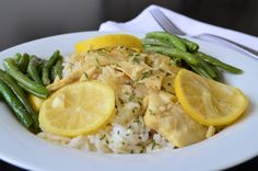 Poached Tilapia with Lemon and Butter