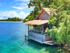 Oravae Cottage. Solomon Islands