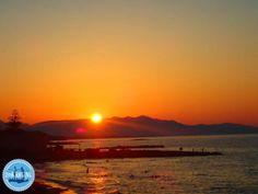 Bed-and-breakfast-on-the-greek-islands - Zorbas Island apartments in Kokkini Hani, Crete Greece 2020 Crete Greece, Greek Islands, Bed And Breakfast, To Go, Sunset, City, Beach, Outdoor, Greek Isles