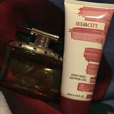 Sex in the City Perfume & Shower Gel Gift Set Both new Other