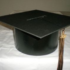 Grad hat card box