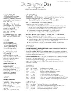 two column one page cv resume template office pinterest cv