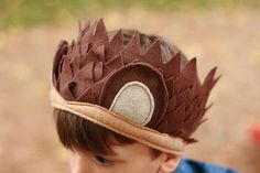 Prickly, yet cute, this hedgehog headband is made from soft cuddly ecofi felt. It has elastic at the back, so it fits most kids heads from 2- 7+ years. Also available in ADULT SIZES!!! Simply select adult size option at purchase. The headband will be larger to fit an adult sized head. The