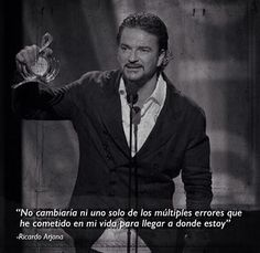 RICARDO ARJONA Photo B, Song Quotes, True Stories, Decir No, Favorite Quotes, Songs, Fictional Characters, Tigger, Color
