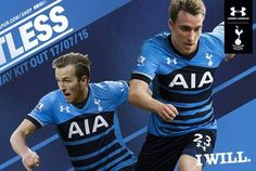 Harry Kane and Christian Eriksen feature as Tottenham launch their new away kit for 2015-1...