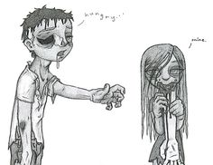 Cute Zombies by ~twiggzzler
