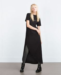 ZARA - WOMAN - ASYMMETRICAL LONG DRESS