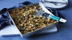 Christmas dinner stuffing should be the best of the year, and Mary Berry's make-ahead chestnut stuffing with apricots is the one we always come back to. Vegetarian Christmas Recipes, Vegan Christmas, Christmas Cooking, Xmas Recipes, Christmas Entertaining, Freezer Recipes, Vegetarian Recipes, Christmas Turkey, 1950s Christmas