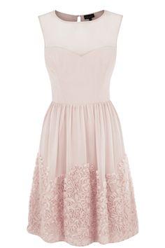 Warehouse Party Dresses   LIGHT PINK Chiffon Tapework Prom.   Fashion Clothing   Warehouse Fashions